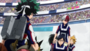 Team Todoroki confronts Team Midoriya.png