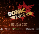 Sonic Forces/Trailer Variants