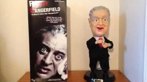 Gemmy Pop Culture Series Animated Rodney Dangerfield (Repair Video)