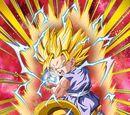 Awakening Omen Super Saiyan 2 Goku (GT)