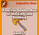 Fanciful Golden Axe of Hacking and Slashing