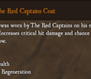The Red Captains Coat