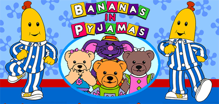 Image result for bananas in pyjamas