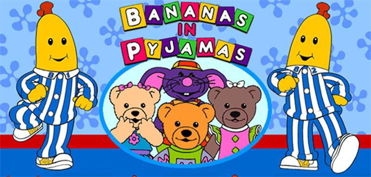 Image result for bananas in pyjamas