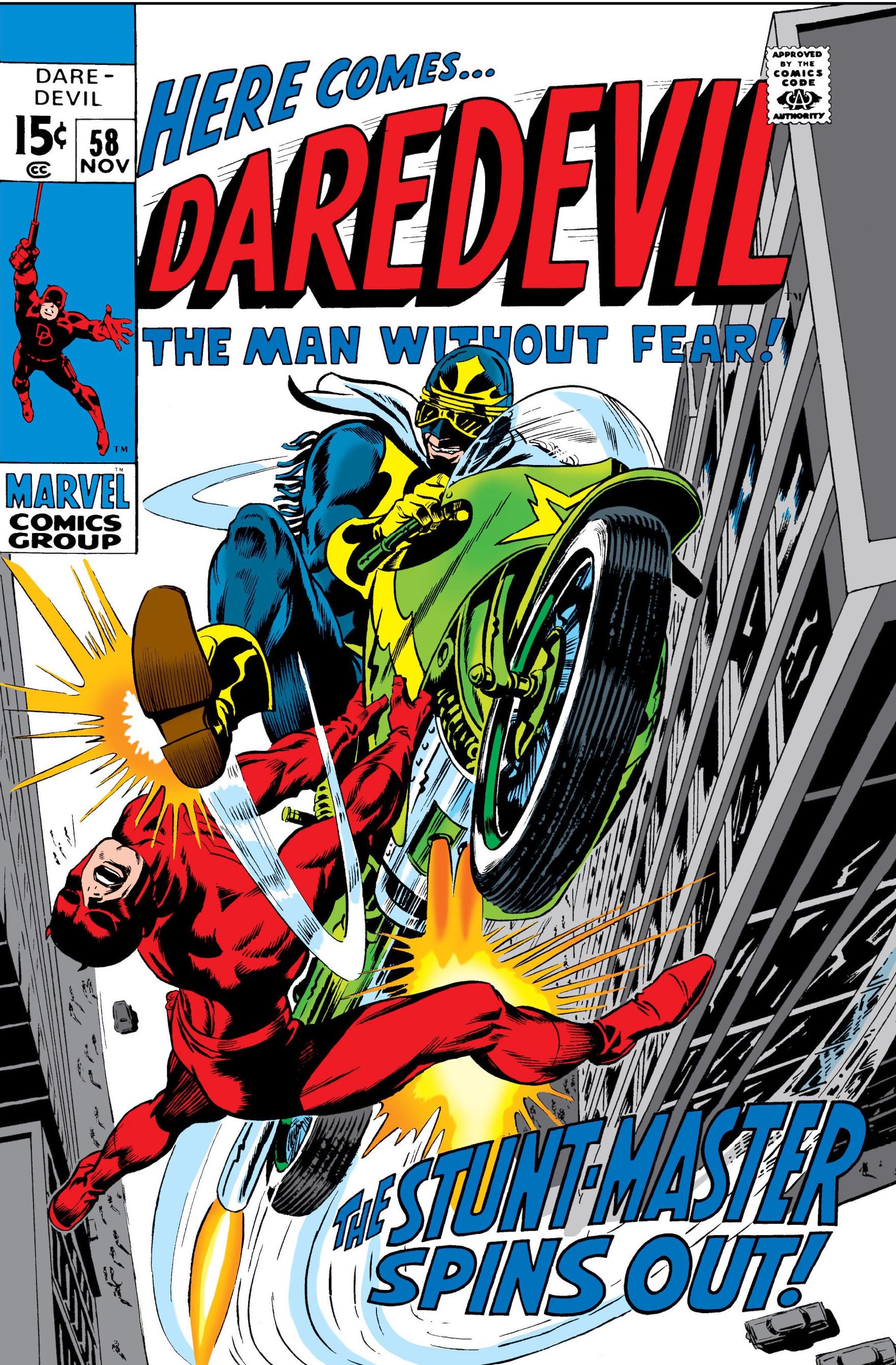 Daredevil #11 - Daredevil #58 (1969)