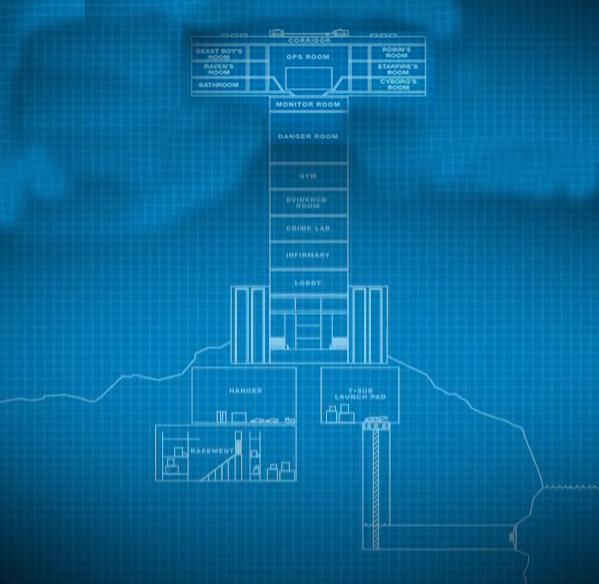 garage haunted house ideas - Titans Tower Teen Titans Wiki Robin Starfire Raven