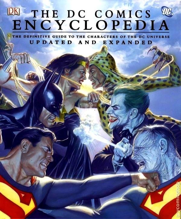 comic book gift ideas - DC Comic Encyclopedia
