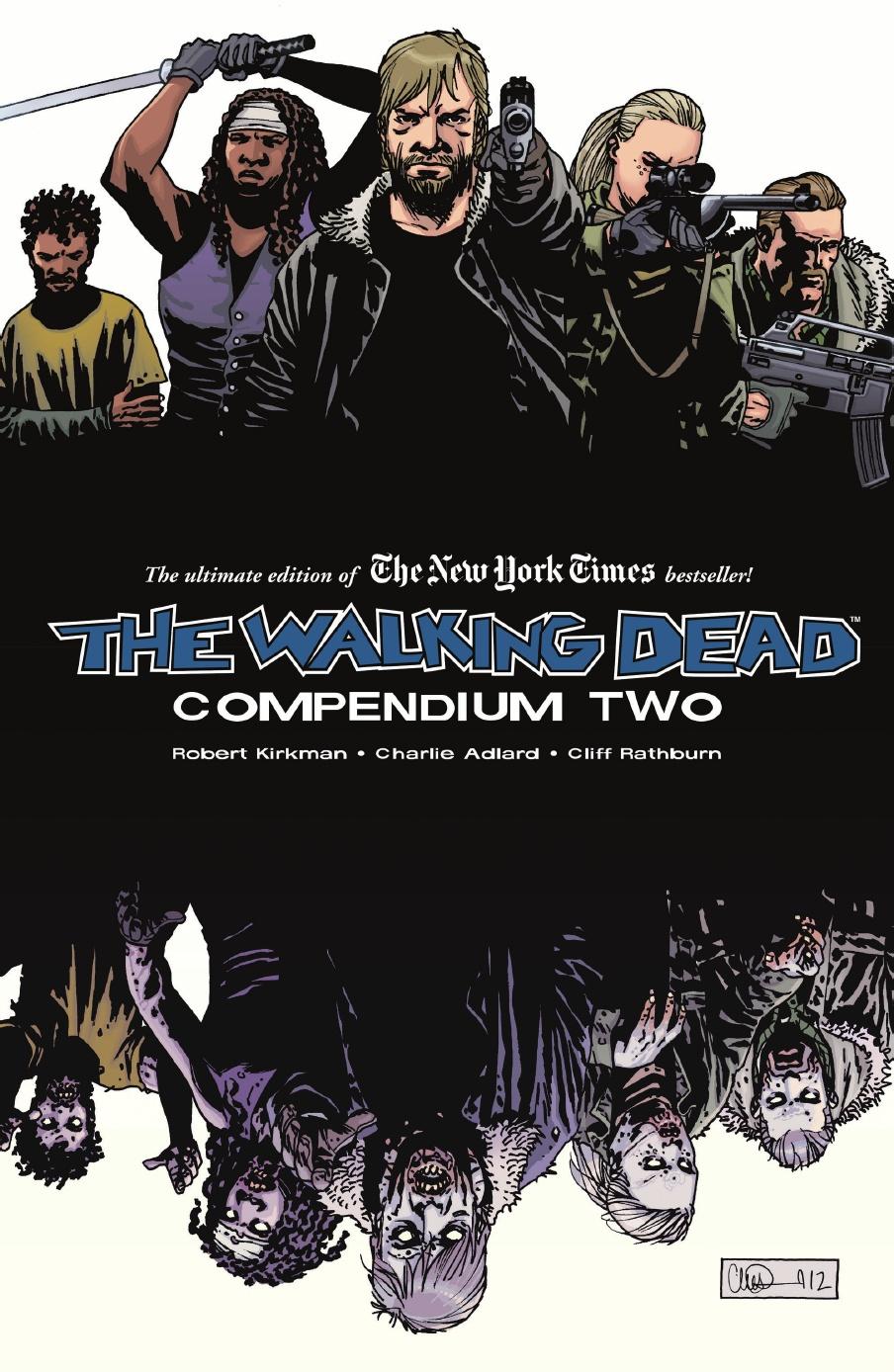 comic book gift ideas - Walking Dead Compendium