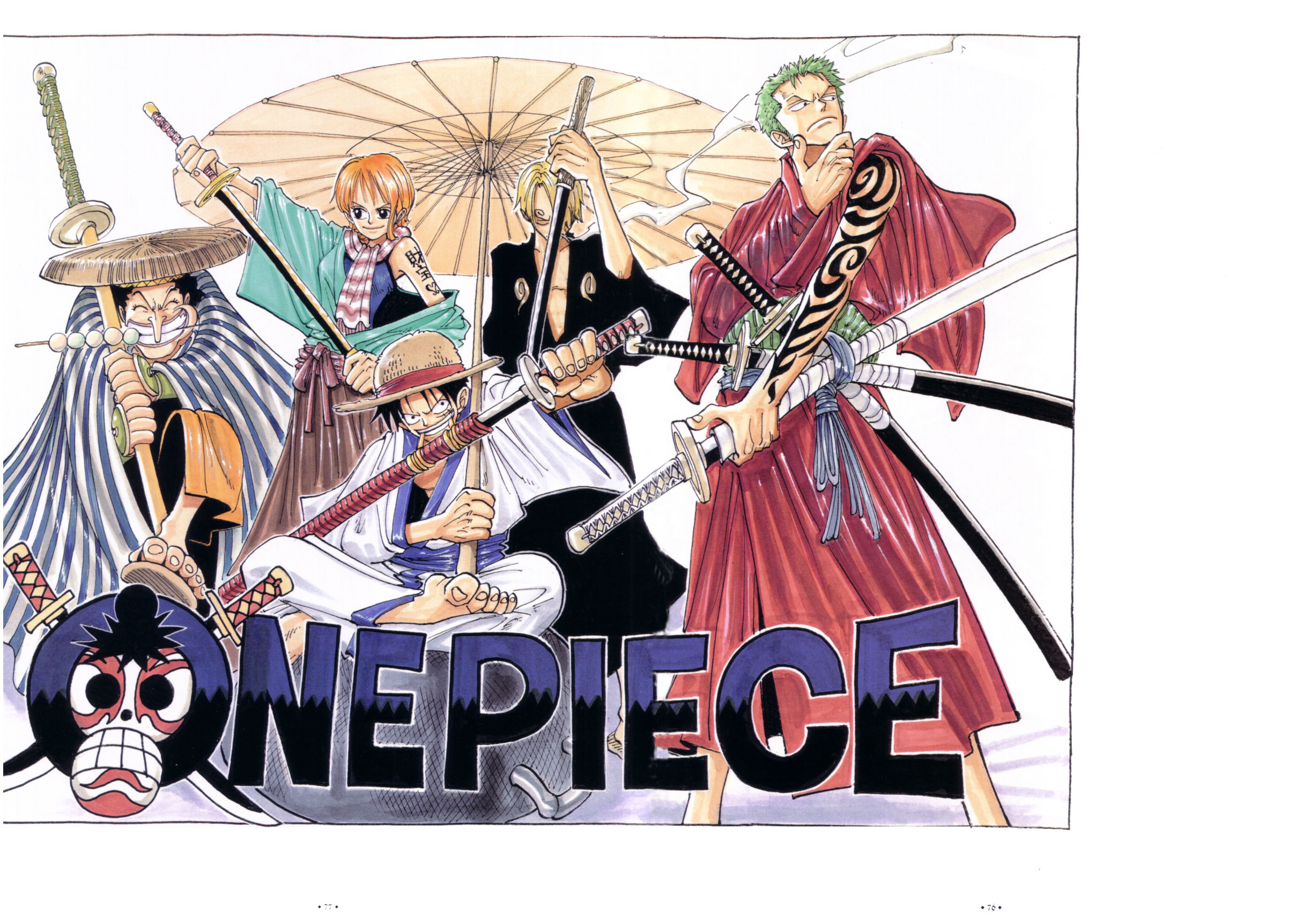 Chapter 70 - The One Piece Wiki - Manga, Anime, Pirates ...