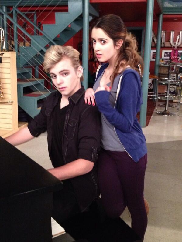 And lynch date ross did laura marano