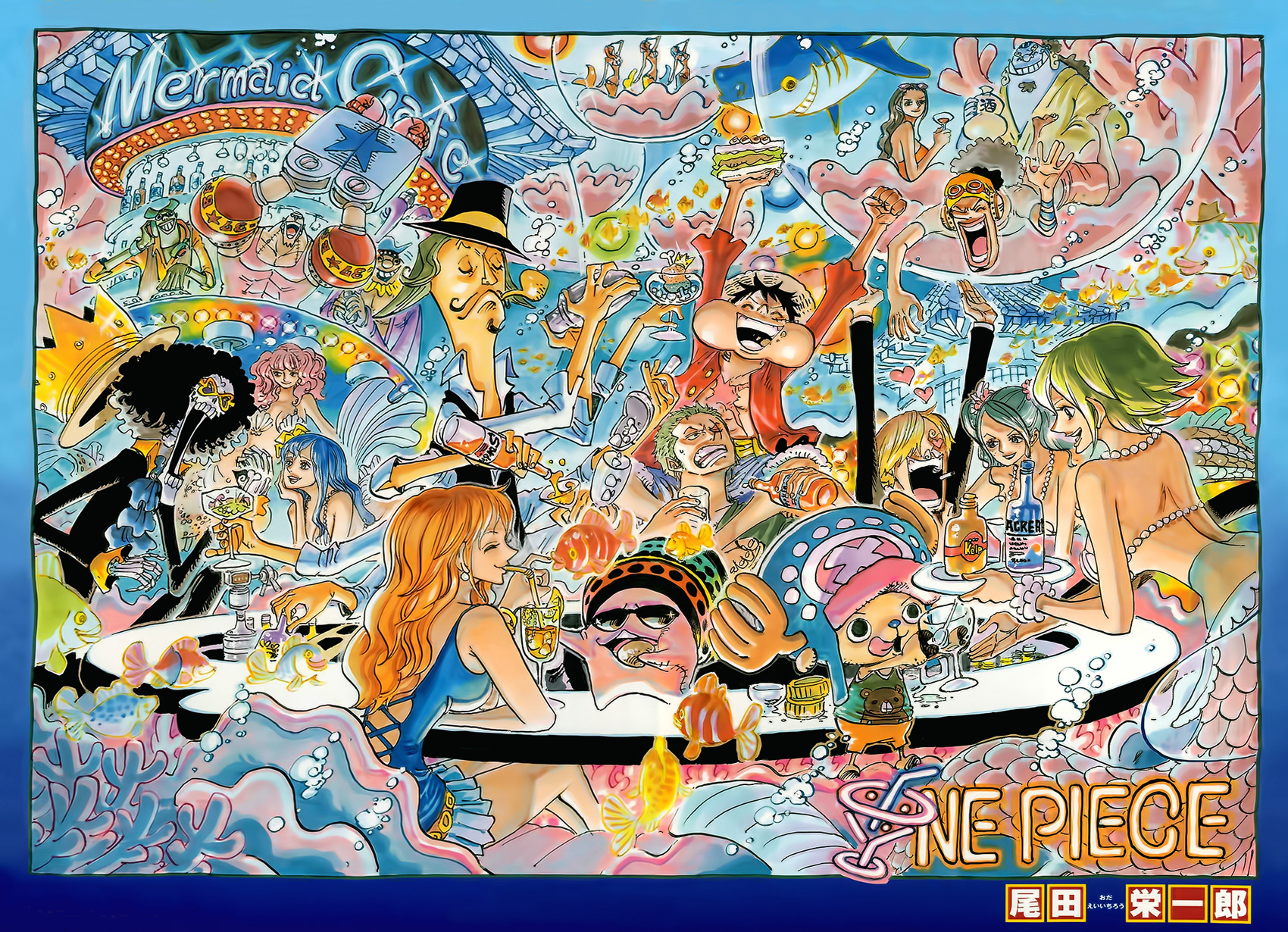 Chapter 724 - The One Piece Wiki - Manga, Anime, Pirates ...
