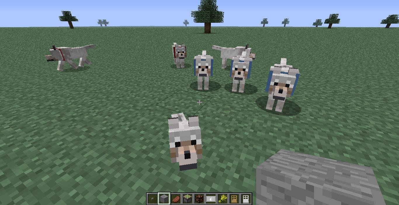 wiki minecraft: Image Minecraft wolf family!.png Minecraft Wiki