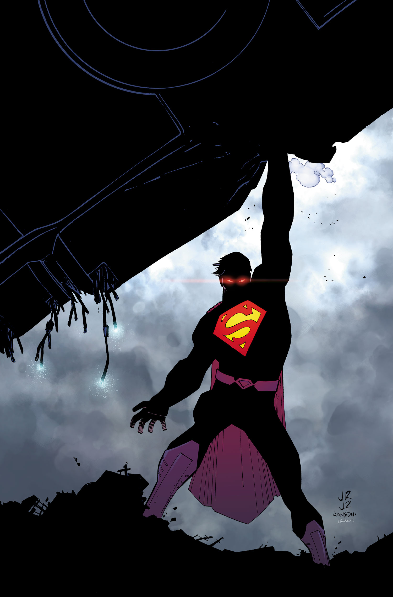 Where Can I Get A 1080p Wallpaper Of This Great Comic Book Cover Superman Vol 3 33 Art By John Romita Jr Think
