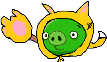 Cat Pig & Elite Cat Pig - Angry Birds Fanon Wiki - Wikia