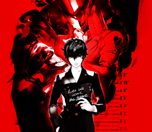 Protagonist P5 with Persona